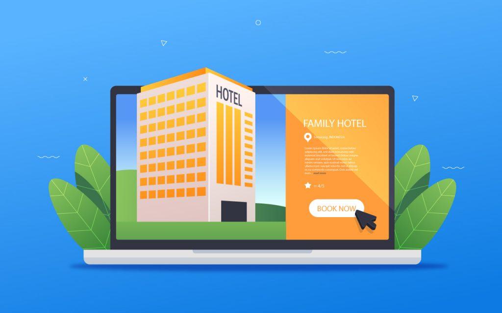cómo crear un sitio web para tu hotel