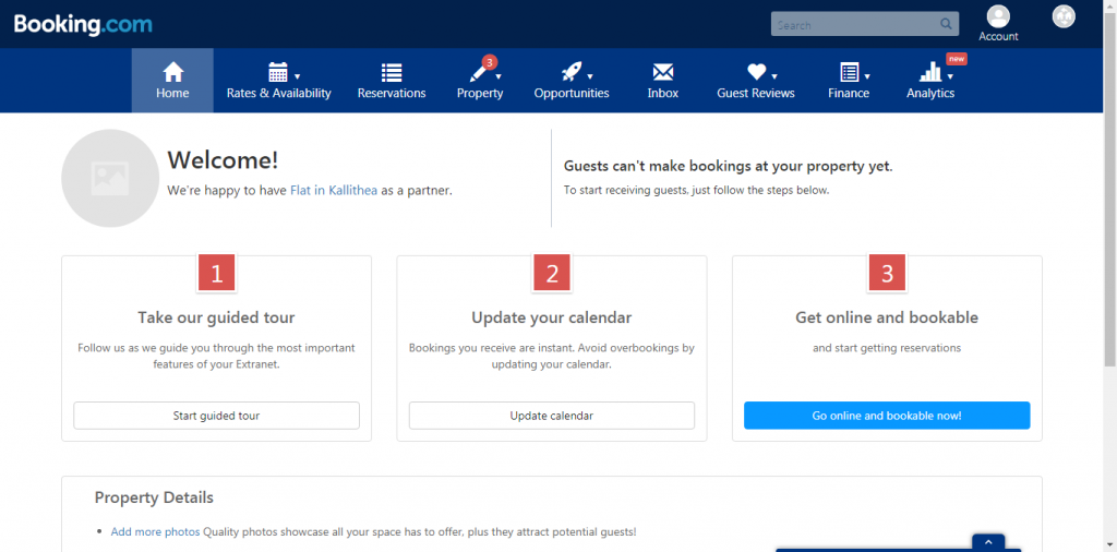 How to use the Booking.com Extranet